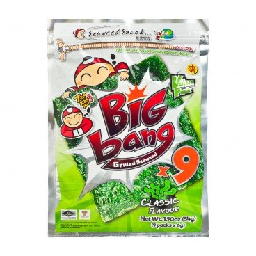 TAOKAENOI Big Bang Seaweed original 54G