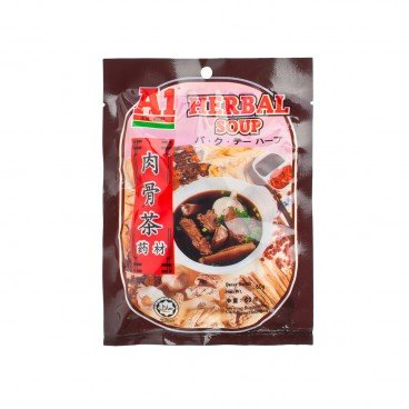 A1 - Herbal Soup Bkt Herbs - 60G