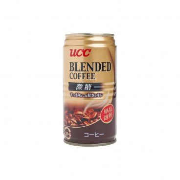 UCC - Blend Coffee Slightly Sweet - 185ML