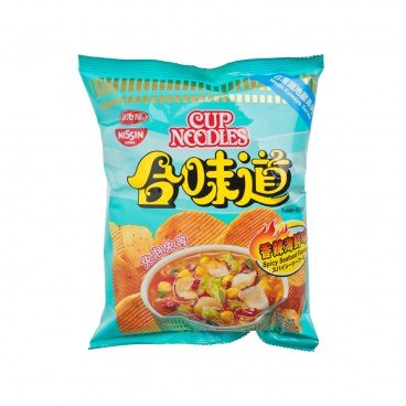 NISSIN Cup Noodle Potato Chips spicy Seafood 50G