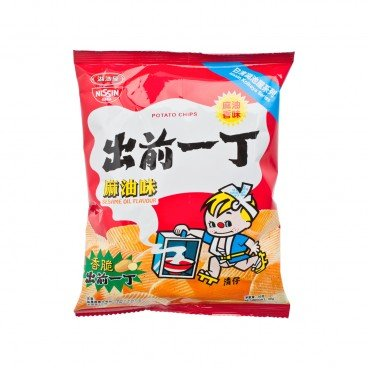 NISSIN Iccho Potato Chips sesame Oil 50G