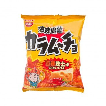 NISSIN Hot Chili Cheese Potato Chips 55G