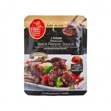 PRIMA TASTE Authentic Asia Cooking Sauce premium Black Pepper Sauce 80G