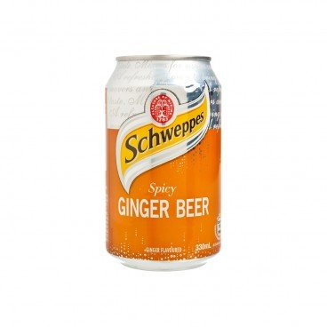 SCHWEPPES Spicy Ginger Beer Soda Ginger Flavored 330ML