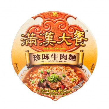 UNI-PRESIDENT - Imperial Big Meal hot Beef - 192G