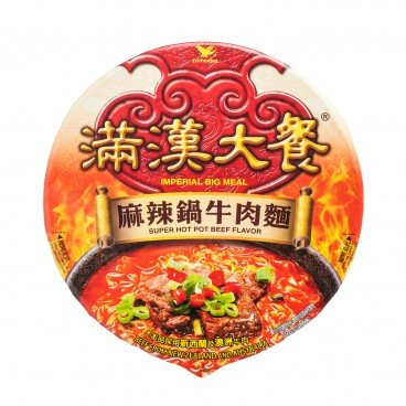 UNI-PRESIDENT - Imperial Big Meal super Hotpot Beef - 204G