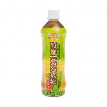 HUNG FOOK TONG Sugarcane And Sea Coconut With Carrot Drink 500ML