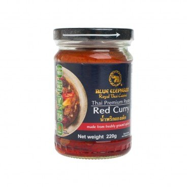 BLUE ELEPHANT Red Curry Paste 220G