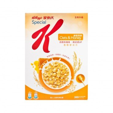 KELLOGG'S SPECIAL K - Honey Oats Cereal - 385G