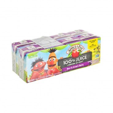 APPLE & EVE Bert Ernies Berry Juice 125MLX8