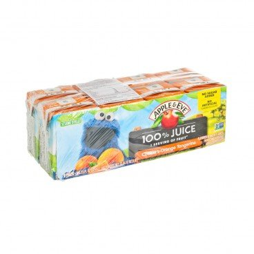 APPLE & EVE Cookie Monsters Orange Tangerine Juice 125MLX8