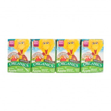 APPLE & EVE Sesame Street Organic Apple Juice 125MLX4