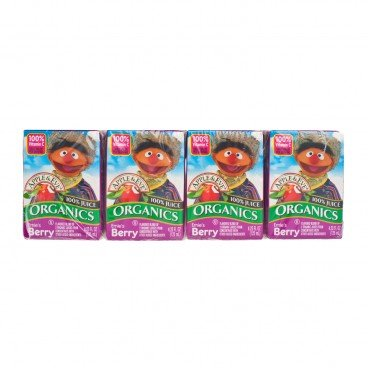 APPLE & EVE Sesame Street Organic Berry Juice  125MLX4