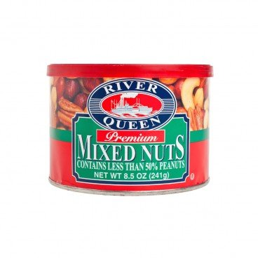 RIVER QUEEN - Premium Mixed Nuts - 241G