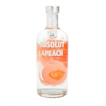 ABSOLUT - Vodka apeach - 75CL