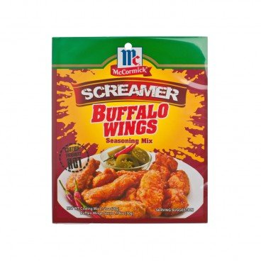 MCCORMICK - Buffalo Wings Seasoning Mix screamer - 70G