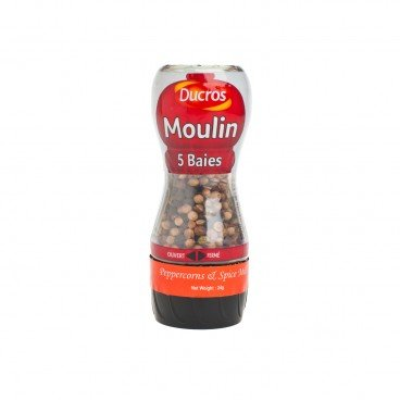 DUCROS Peppercorns Spice Mill 24G