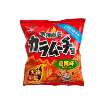 NISSIN - Hot Chili Potato Chips - 25G