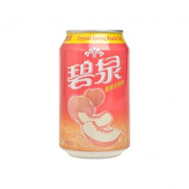 CRYSTAL SPRING - Peach Te Drink - 330ML