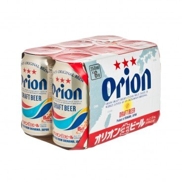 ORION Draft Beer 350MLX6