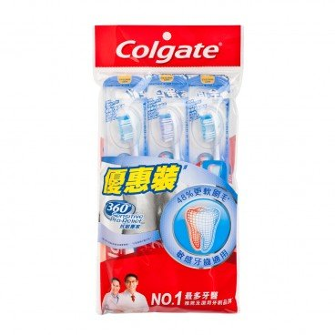 COLGATE Sensitive Pro Relief Ultra Soft Tooth Brush 3'S