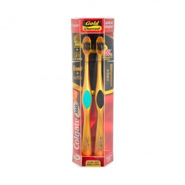 GOLD CHARCOAL TOOTHBRUSH