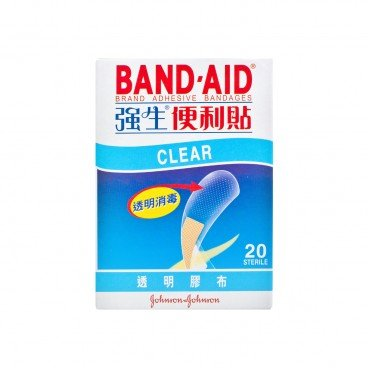 BAND AID Clear Bandages 20'S