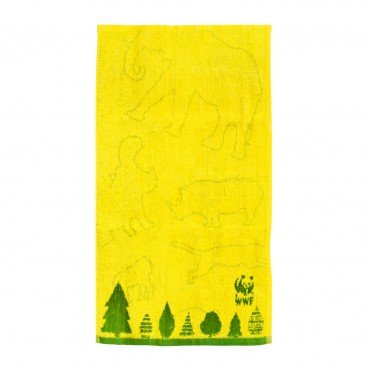 BAMBOO FIBER TOWEL-YELLOW