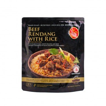 BEEF RENDANG CHICKEN WITH RICE