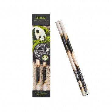 CHARITY SALE-WWF Recycled Newspaper 2 b Pencil panda 2'S