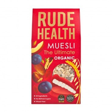 RUDE HEALTH (PARALLEL IMPORT) - The Organic Ultimate Muesli - 500G