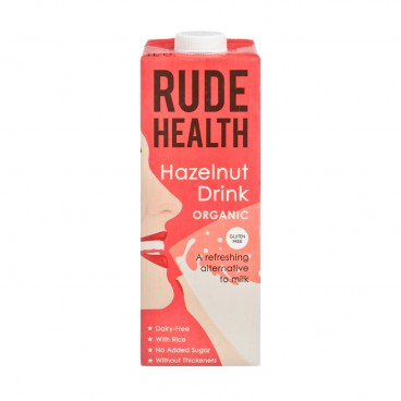 RUDE HEALTH (PARALLEL IMPORT) - Organic Hazelnut Drink - 1L