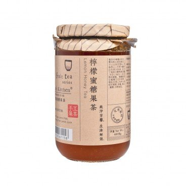NICOLE'S KITCHEN - Honey With Peeled Lemon Tea - 450G