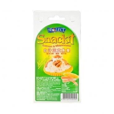 SEALECT - Salmon May Snackit - 85G+18G