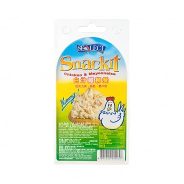 SEALECT - Tuna May Snackit - 85G+18G