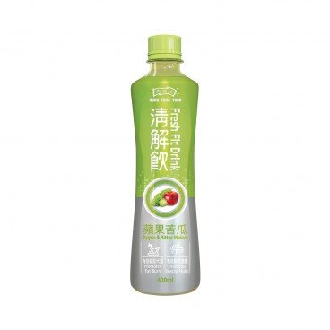 HUNG FOOK TONG - Fresh Fit Drink apple Bitter Melon - 400ML