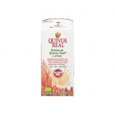 QUINUA REAL - Organic Quinoa Rice Drink - 200ML