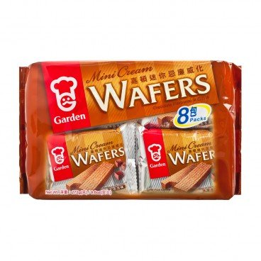 GARDEN Mini Wafer Tray Pack chocolate 272G