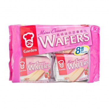 GARDEN - Mini Wafer Tray Pack strawberry - 272G