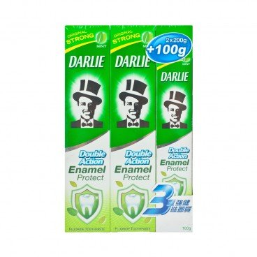 DARLIE - Double Action Toothpaste Package - 200GX2+100G