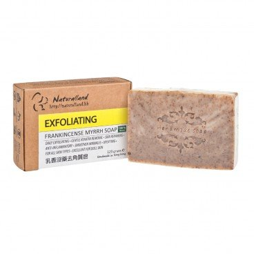 NATURALLAND Exfoliating frankincense Myrrh Soap 110G
