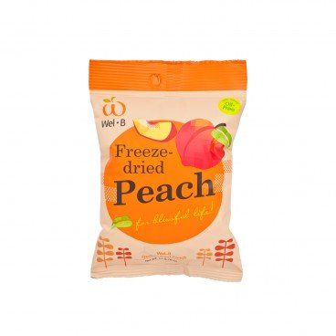 WEL-B 100 Natural Freeze dried Peach 14G