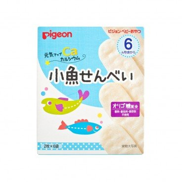 PIGEON - Fish Rice Cracker - 6'S