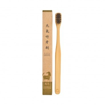 YUANTAI Bamboo Horse Hair Toothbrush adult PC