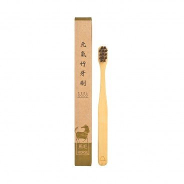 YUANTAI Bamboo White Horse Hair Toothbrush kid PC
