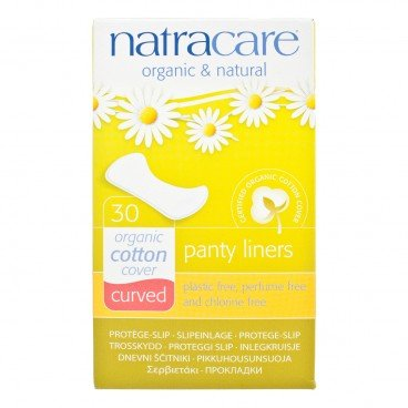 NATRACARE - Panty Liners curved 16 cm - 30'S