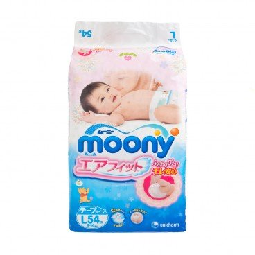 MOONY Diaper large 54'S
