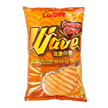 CALBEE Potato Chips bbq Flavour 200G
