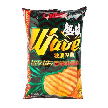 CALBEE Potato Chips hot Spicy 200G