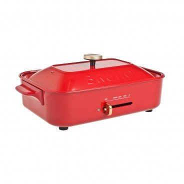 BRUNO Compact Hot Plates red PC